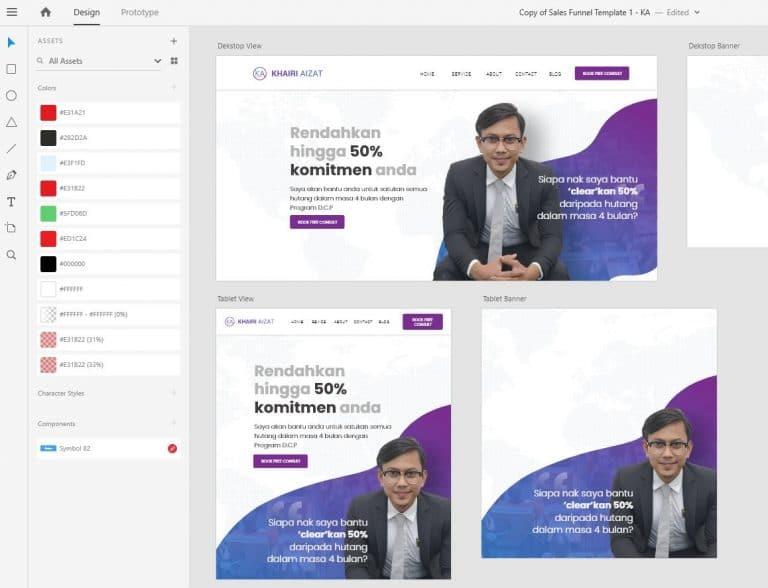 Kini Dilancarkan Website Rasmi Khairi Aizat Consultancy